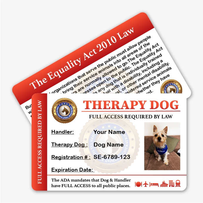 offcial esa registration - esa & service animal registry